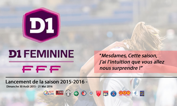le calendrier de la D1 française 2015-2016