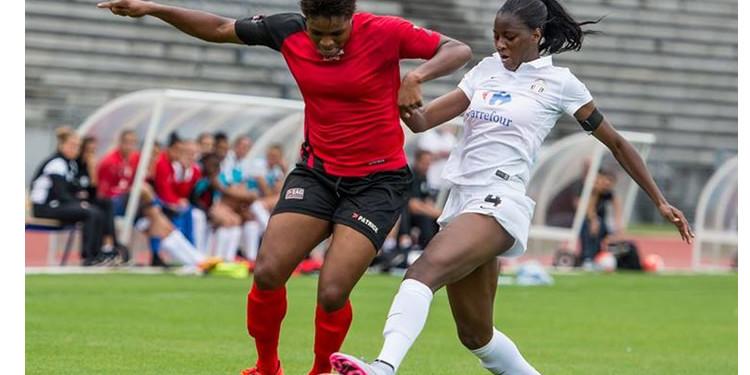 beau match entre Oparanozie et Aissatou Tounkara. Crédit Gianni Pablo. lesfeminines.fr