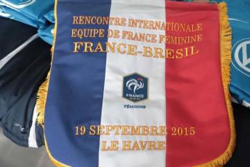 France-Bresil (2-1). Une rencontre maitrisée par les françaises. Crédit fff.fr. Lesfeminines.fr