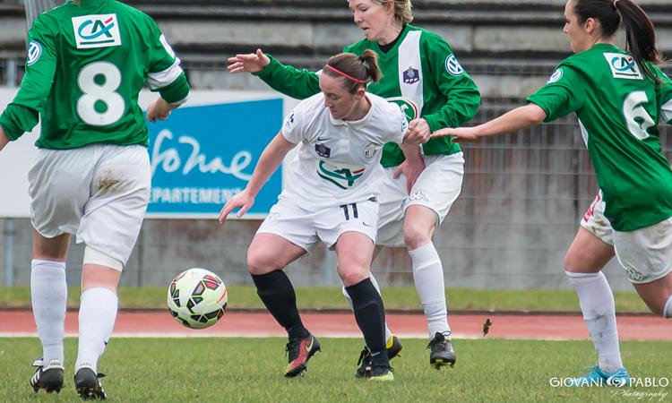Fcf Juvisy – Julie Machart part bonifier Lille en D2