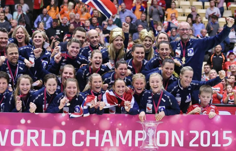 EDF. La Norvège, un grand pays du sport féminin.