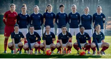 Equipe de France U18A. Crédit Gianni Pablo. Lesfeminines.fr