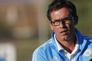 Christophe Parra, coach de l'Olympique de Marseille féminin. ITW après la victoire face à Grenoble Claix pour la tête du groupe C de D2. Crédit Meryll Viam - OM.net/lesfeminines.fr