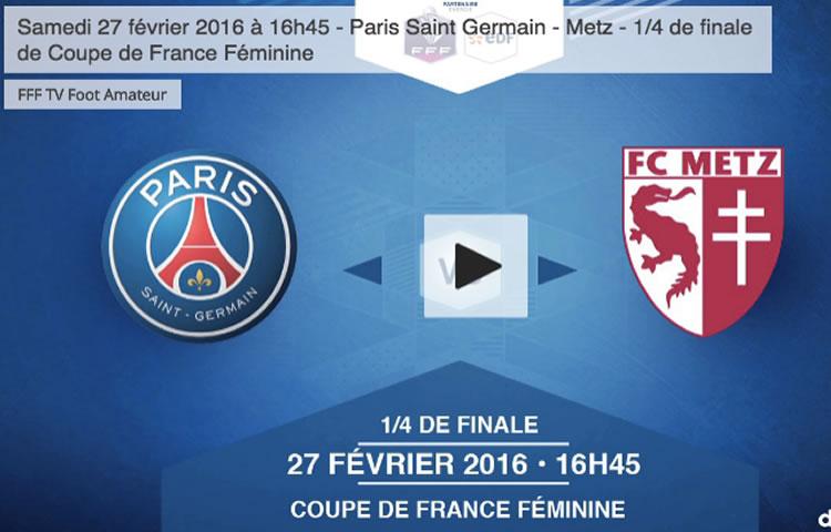 ON TV – Coupe de France – direct – la fédération diffuse deux quarts de finale en direct