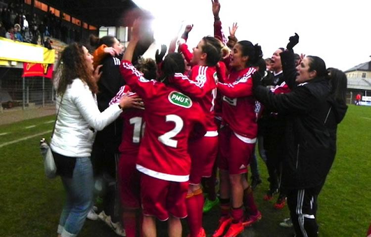 Coupe de france – Rodez – Solène Barbance nous raconte la qualification de l'intérieur (2-2, 4-1 tab).