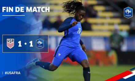 SHEBELIEVESCUP USA (1-1) FRANCE «Les Bleues montrent leur orgueil !»