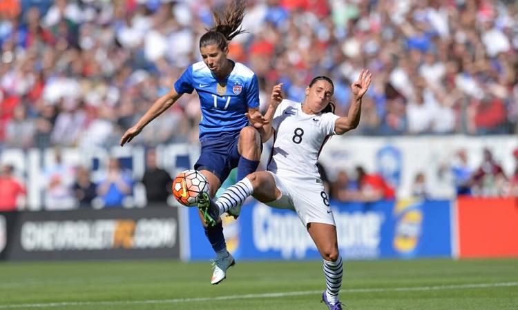 #SHEBELIEVESCUP. La France craque en fin de match après avoir fait jeu égal avec les USA.