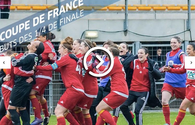 VIDEO – les quarts de finale de la Coupe de France.