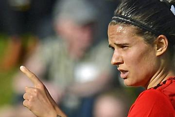 Dzenifer Maroszan. Une joueuse qui fait basculer un match. Crédit Dfb. Lesfeminines.fr