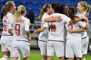 Olympique Lyonnais face à Slavia Prague confirme sa future qualification en lui retirant tout risque de surprise. Crédit OL web. les feminines.fr