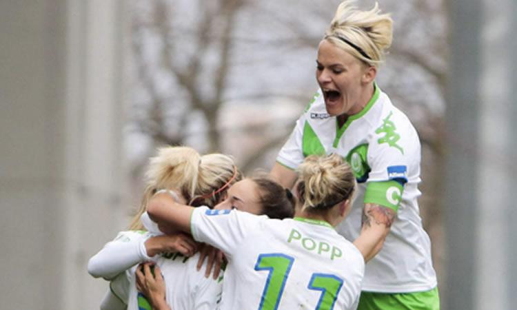 Bundesliga – 1/4F – Wolfsburg s'impose (3-1) en championnat face à Frankfurt.