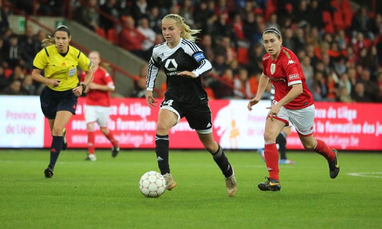 1/2F WCL 2016. Jackie Groenen, 21 ans, un regard très positif sur l'Europe du football féminin.