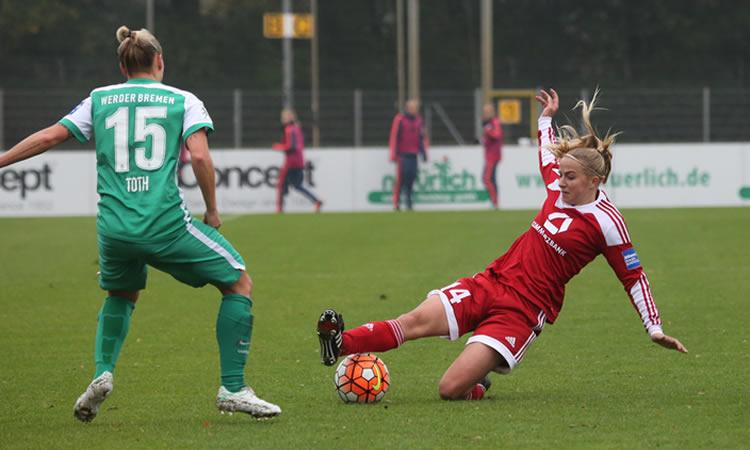1/2F WCL 2016 – Jackie Groenen, FFC Frankfurt, eine junge europäische Fußballerin!