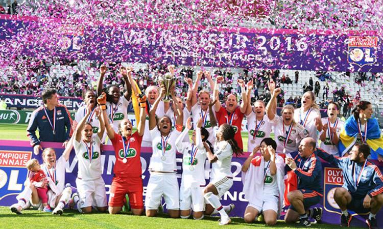Lyon gagne sa Cinquième Coupe de France de rang et son 8ème titre. Lesfeminines.fr