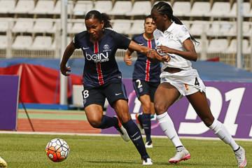 Egalite parfaite. Football féminin. PSG-Juvisy (2-2) Crédit psg.fr lesfeminines.fr