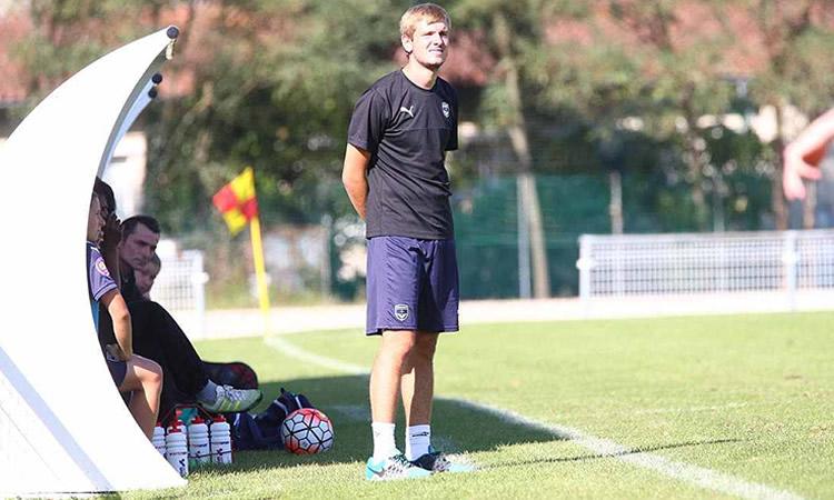 D1F – Albi Asptt – ITW du nouveau coach Theodore Genoux, adepte du management à deux avec Patrice Garrigues.