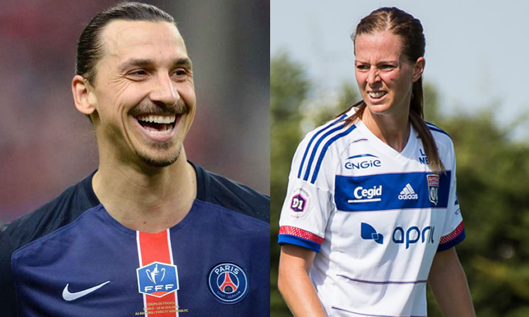 Football – Deux stars suédoises quittent la France : Lotta Schelin et Zlatan Ibrahimovic.