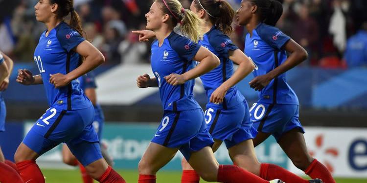 L'équipe de France A. crédit fff.fr Crédit Gianni Pablo. Lesfeminines.fr