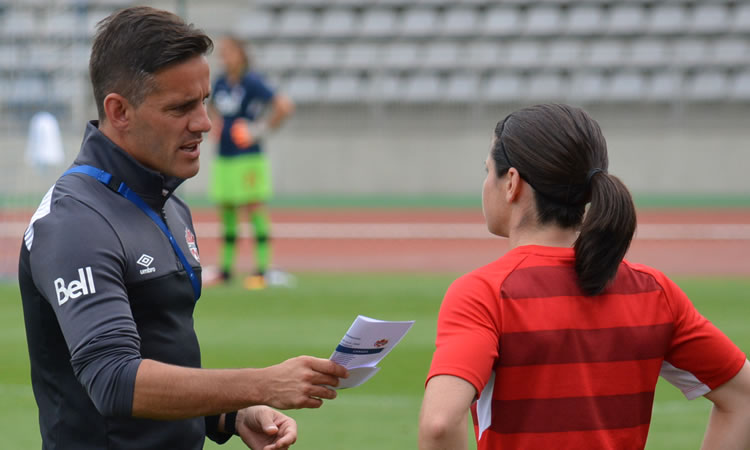 ITW John Herdman, coach canadien : « France is a top team. We have to push and doing our best ! And who knows ?