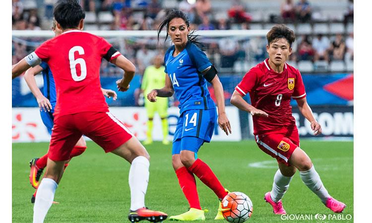 Video – France – Chine – Une victoire française bien maitrisée (3-0) à Charlety.