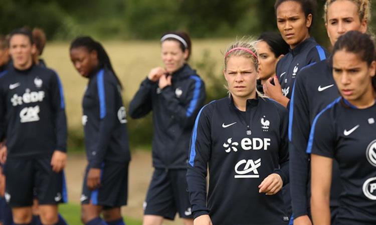 JO Rio 2016 – L'équipe de France féminine entend les claps de l'Euro 2016. Cela motive !