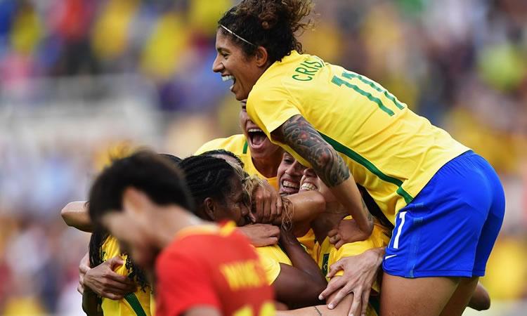 JO Rio 2016 – Le Brésil impérial face à la Chine (3-0)