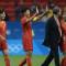 Bruno Bini et l'équipe de Chine vont vendre chèrement leur peau face à l'Allemagne pour une place en 1/2 Finale Olympique. Crédit FIFA. lesfeminines.fr