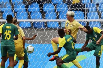 Nilla Fisher met le seul but suédois. Crédit FIFA. Lesfeminines.fr