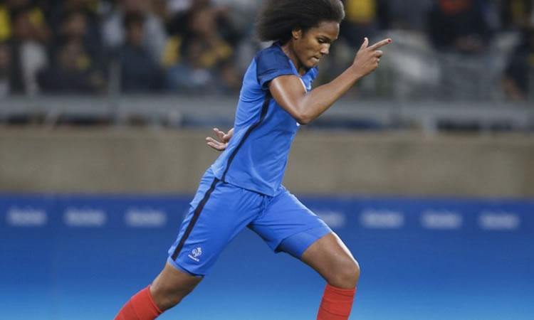 JO Rio 2016 – les joueuses des Jeux Olympiques. Wendie Renard, la meilleure joueuse de ce premier tour.