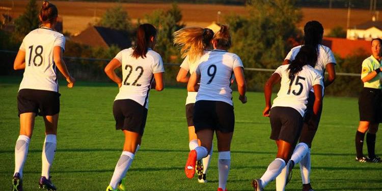 Equipe de France des U20. face au Fc Metz. 0-5. crédit Ligue de la Lorraine. Lesfeminines.fr