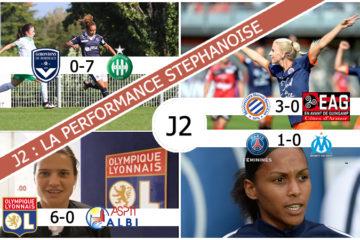 D1F La performance stéphanoise. Lesfeminines.fr