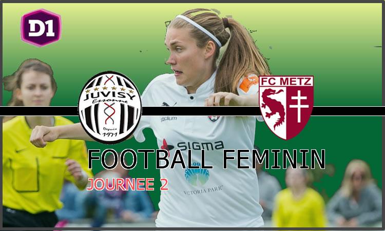 D1F- J2 – Le Fcf Juvisy reçoit le Fc Metz. Et si les clubs profs en avaient marre de prendre des tôles ?