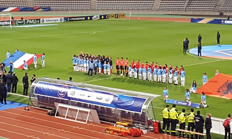 EURO 2017 – FRANCE (6-0) ALBANIE – Hamraoui comme à la maison !