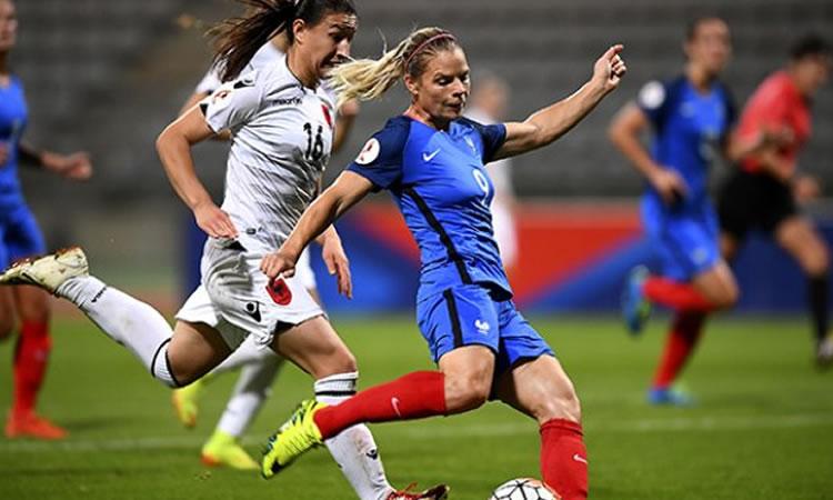 EURO 2017 – France – Albanie. Un match facile que les françaises ont rendu facile.
