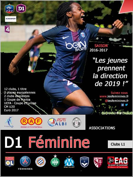présentation de la saison 2016-2017 football féminin