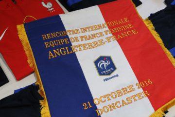 Angleterre - France. Football féminin. 21 Octobre 2016. Crédit fff. Lesfeminines.fr
