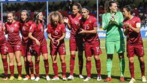 Portugal, qualification historique pour l'Euro 2017. Crédit UEFA. Lesfeminines.fr