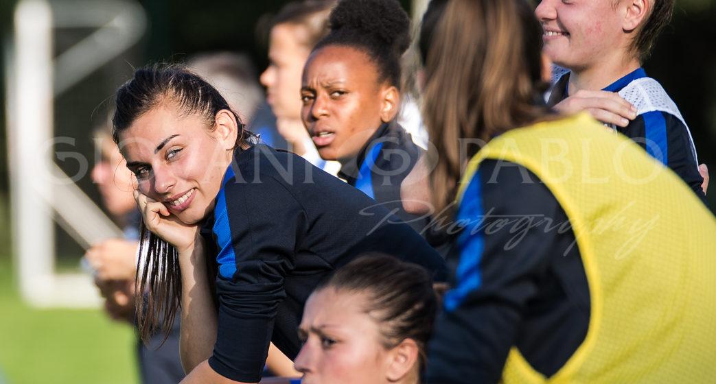Agathe Ollivier. EA Guingamp. Crédit Gianni Pablo. Exclusivité lesfeminines.fr