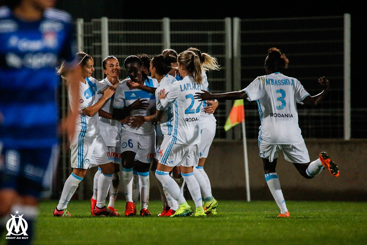 L'Olympique de Marseille, renforce son esprit de groupe avec un but de Viviane Asseyi, sur pénalty, à la 93'. Lesfeminines.fr