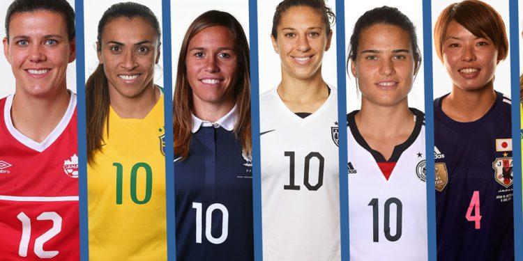 The Best 2016. Qui sera la meilleure joueuse 2016 ? Pas simple comme choix; Crédit lesfeminines.fr