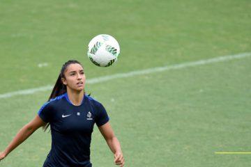 Sakina Karchoui, fer de lance de la FRANCE avec ses premières sélections avec les A. Crédit FIFA. Lesfeminines.fr