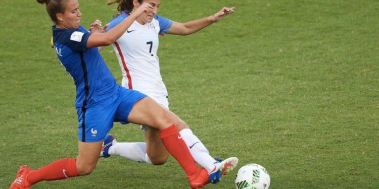 Théa Greboval, capitaine de l'équipe de France des U20. Crédit FIFA. Lesfeminines.fr