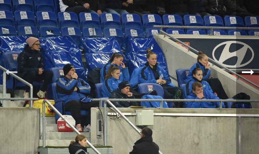 WCL –  En Europe, l'Olympique Lyonnais : «Hé ! Oh ? Il y a quelqu'un …. ?»
