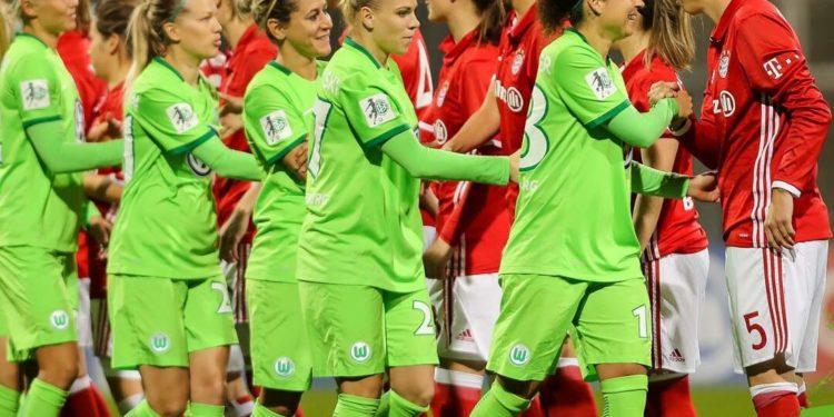 L'opposition entre le Vfl Wolfsburg et le Bayern de Munich. Crédit twitter. Lesfeminines.fr