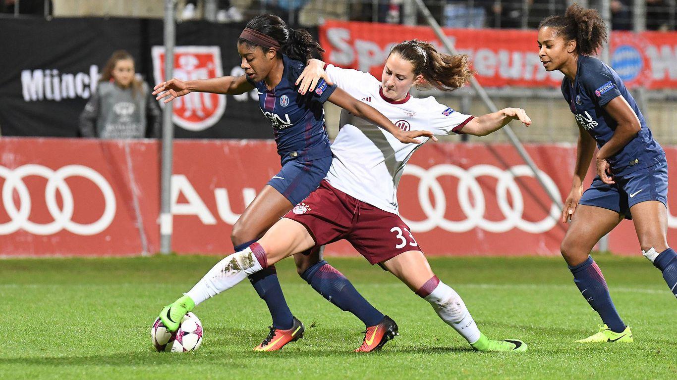 Entre le Bayern et le PSG, pour le retour, c'est du 50-50. crédit Bayern.fr. Lesfeminines.fr
