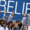 Vainqueur du #shebelievesCup 2017#. L'Equipe de France prend plaisir à lever les bras dans un tournoi !