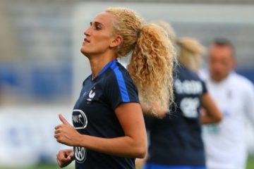 Kheira Hamraoui. Retour en Equipe de France. crédit lesfeminines.fr