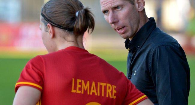Sébastien Joseph, le coach de Rodez Aveyron. Crédit : La Dépêche. Lesfeminines.fr