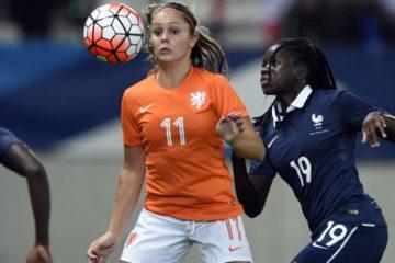 Pays-Bas France. photo archives. France-Pays Bas. Crédit franceTV. Lesfeminines.fr