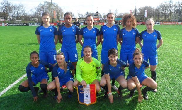 Equipe de France U19. Crédit fff. les feminines.fr